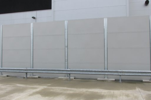 industrial acoustic screen