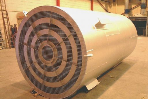 Industrial acoustic silencers