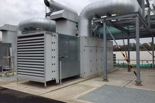 industrial acoustic attenuator