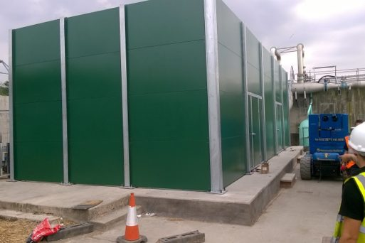 Acoustic Screen for Wastewater