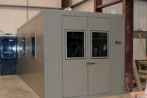 acoustic soundproof door specifications for commercial and industrial soundproofing applications