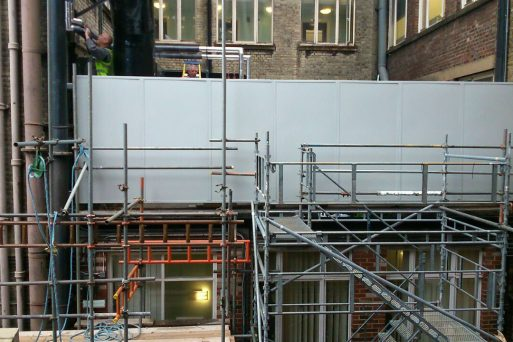 acoustic screen installations