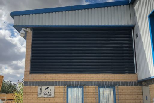 Acoustic Attenuator installation at glass toughening plant