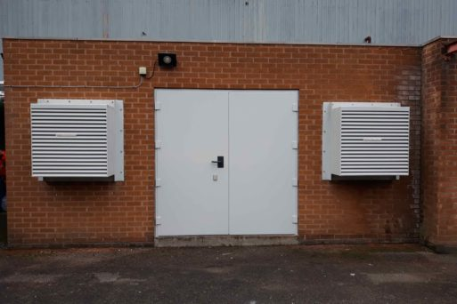 Bespoke Acoustic doors and louvres for soundproofing