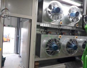 acoustic ventilation unit, power plant