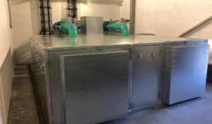 acoustic enclosure water treatment plant Kent