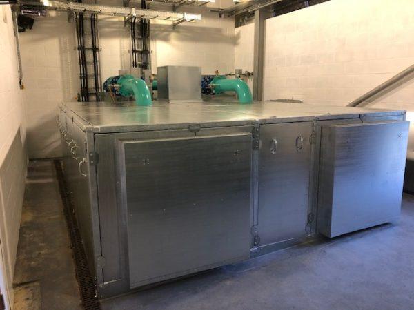 acoustic enclosure water treatment plant Kent