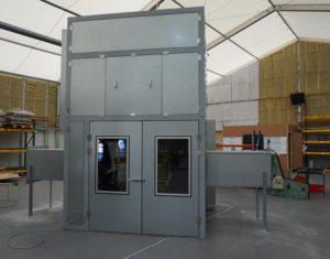acoustic enclosure, automotive manufacturing site