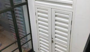 acoustic louvres, residential development
